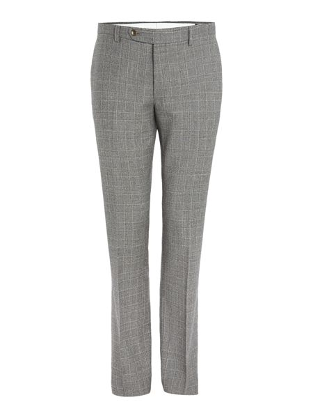 Corsivo Atillo Italian Wool Check Suit Trouser