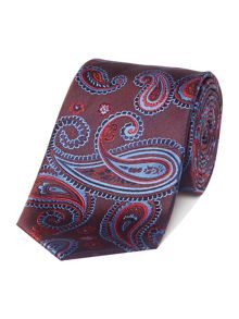 Simon Carter Two Tone Paisley Tie
