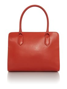 Just Cavalli Red chain detail tote bag
