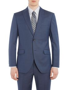 Corsivo Santo Italian Wool Textured Suit Jacket