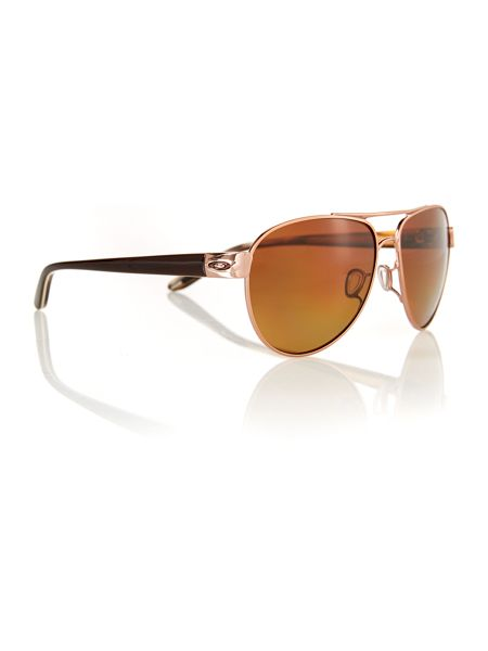 Oakley OO4110 aviator sunglasses