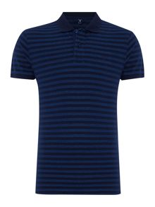 Gant Oxford Stripe Pique Polo
