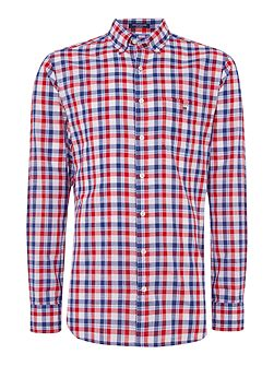 Mid Size Gingham Check Shirt