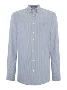 Gant Oxford Stripe Detail Long Sleeve Shirt