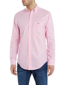 Small Gingham Check Poplin Shirt