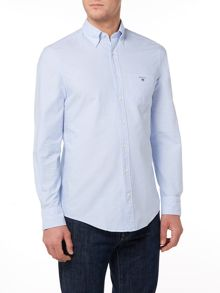 Gant Regular Fit Solid Oxford Shirt