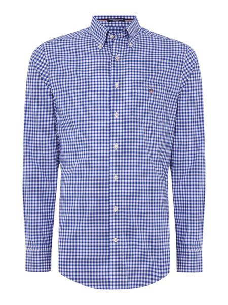 Gant Poplin Gingham Long Sleeve Shirt