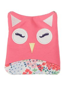 Joules Girls Ditsy print owl purse