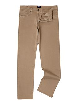 Slim Fit Straight Leg Trousers