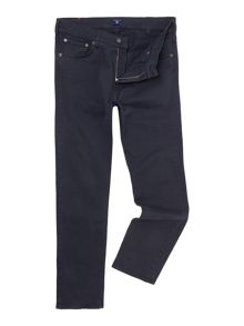 Gant Slim Fit Straight Leg Trousers