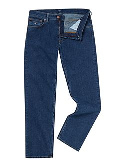 Men's Gant Regular Fit Straight Leg Jeans