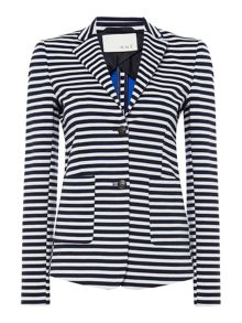 Oui Striped blazer