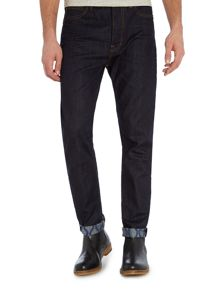 Vivienne Westwood Classic tapered fit dark wash jean