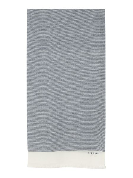 Ted Baker Micro stripe scarf