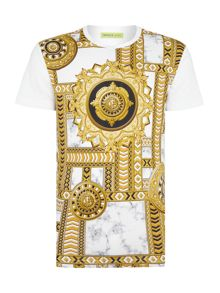 Versace Jeans Regular fit versace print t shirt