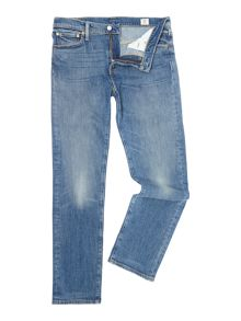 504 Regular Straight Fit Perch Light Wash Jeans
