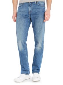 Levi's 504 Regular Straight Fit Perch Light Wash Jeans