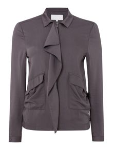 Gray & Willow Selia short waterfall jacket