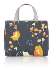 Botanical grey medium multiway bag