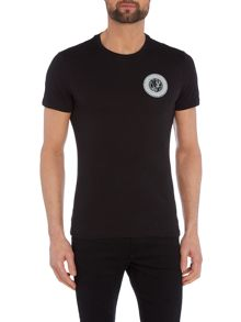 Versace Jeans Regular fit crew neck logo t shirt