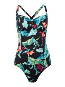 Seafolly Jungle out there fuller cup underwired swimsuit