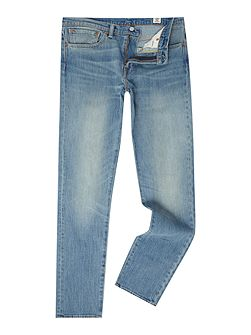 511 Dusted Light wash slim fit jeans