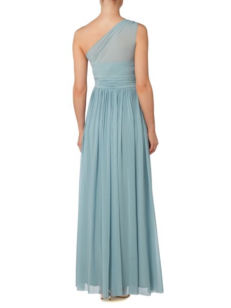 Ariella One shoulder tulle gown