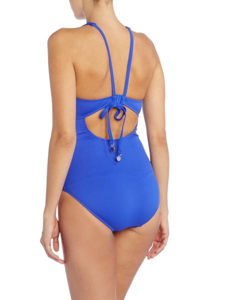 Seafolly Mesh about fuller cup high neck swimsuit