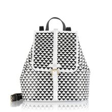 Radley Jonathan saunders white medium backpack