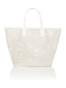 Seafolly Double dot tote beach bag