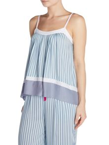 DKNY Spa stripe sleep camisole