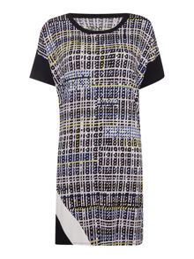 DKNY Storm plaid weekender sleep shirt