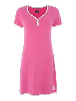 Logo sleep dress