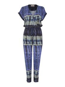 Label Lab Reflection Printed Jumpsuit