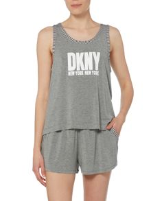 DKNY Urban essentials logo pyjama set