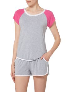 DKNY Heart to please short sleeve pyjama top