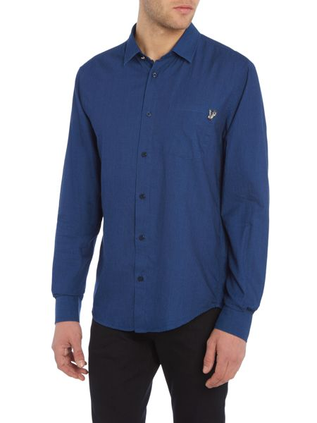 Versace Jeans Slim fit chambray shirt