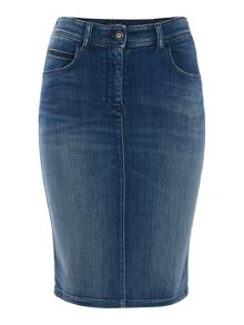 Armani Jeans Denim pencil skirt