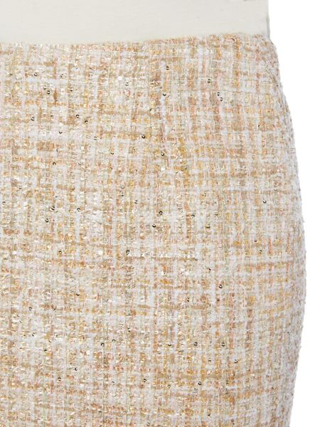 Linea Edie luxe tweed mix skirt