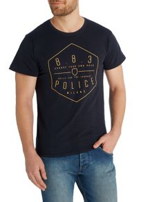 883 Police Edgar graphic t-shirt