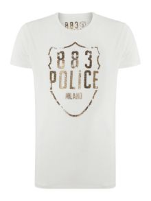 883 Police Nypd graphic t-shirt