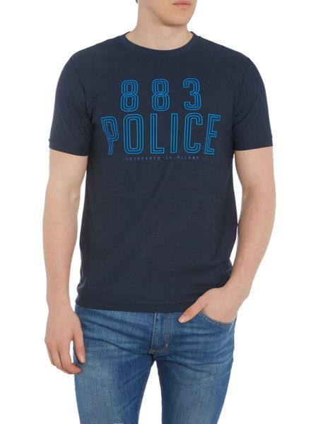 883 Police Selby graphic t-shirt