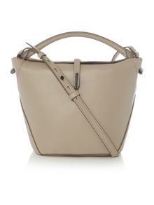 Kenneth Cole Grey small flapover crossbody