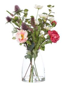 Dickins & Jones Thistle, Anemone & Peony Arrangement