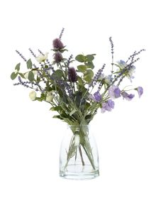 Dickins & Jones Thistle, Anemone & Lavender Arrangement