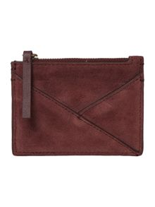Kenneth Cole Burgundy card case