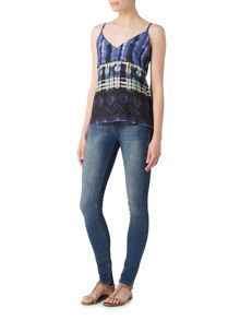 Label Lab Reflection print cami