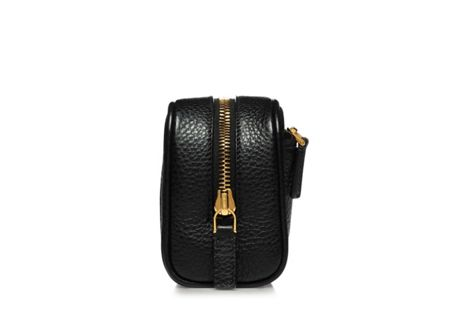 Tom Ford Small Black Leather Bag