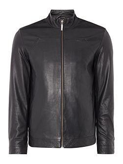 Men's Calvin Klein Logn leather jacket