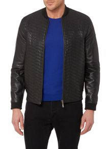 Leal leather jacket